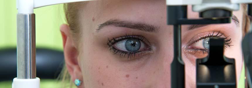 Diagnose trockenes Auge