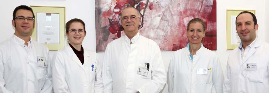 Augenarzt Dr. med. Udo Heuer und Team mit FOCUS Siegel