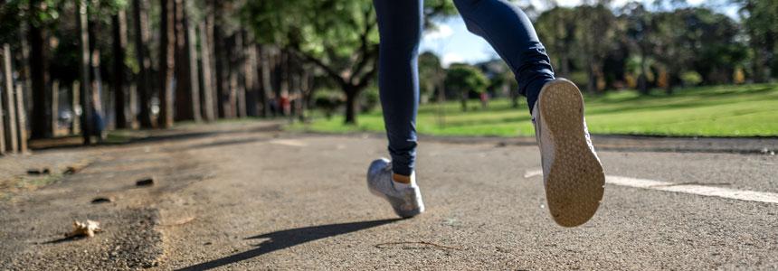 Jogging Person