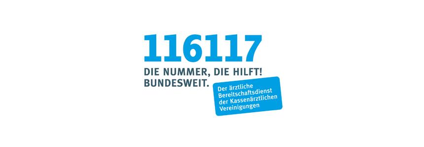 Bereitschaftsdienstnummer 116117