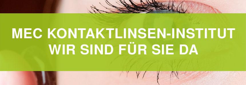 MEC Kontaktlinsen-Institut - Wir sind für Sie da