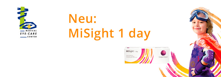 MiSight 1-day Kontaktlinsen für Kinder