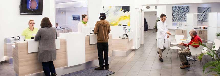 Offene Sprechstunde Medical Eye-Care Augenarztpraxis Farmsen