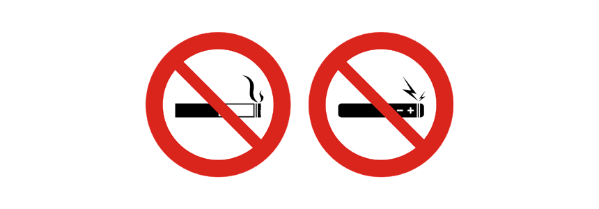 Rauchen verboten - No Smoking