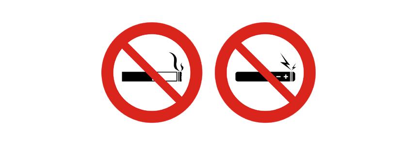Rauchen verboten - No Smoking
