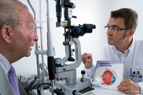 Vorsorgeuntersuchung Augenarzt